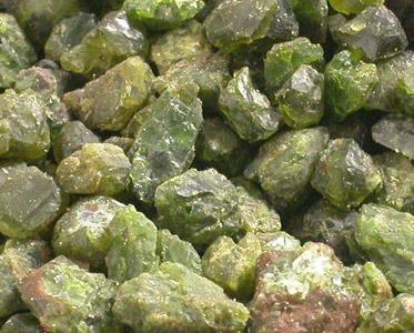 Pakistani Lime Green Garnet Facet Amp Cab Crystal Rough Lot